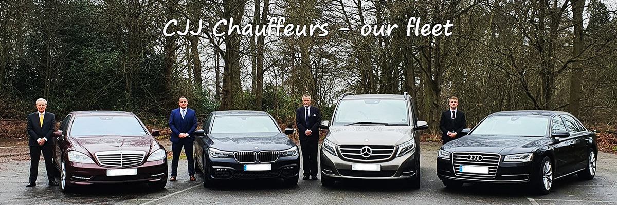 Saloon cars - MPVs - minibuses - chauffeuring services