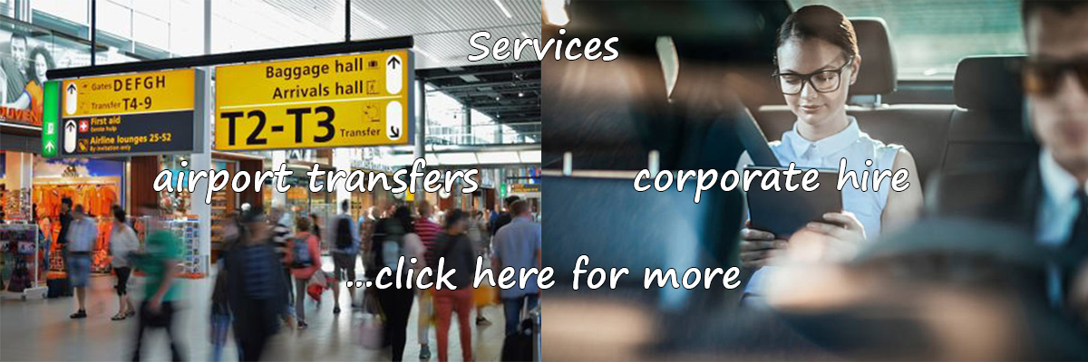 Chauffeuring services: airport/seaport transfers - corporate hire